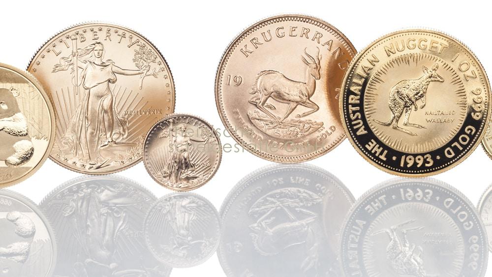 Goldmünzen verkaufen Berlin Foto