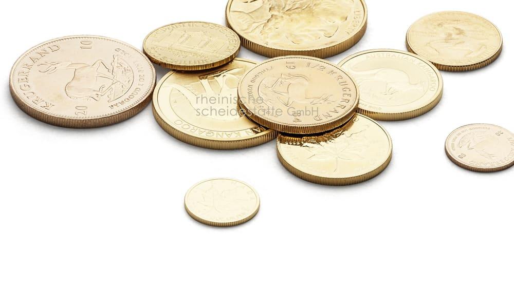 Goldmünzen verkaufen Berlin Image