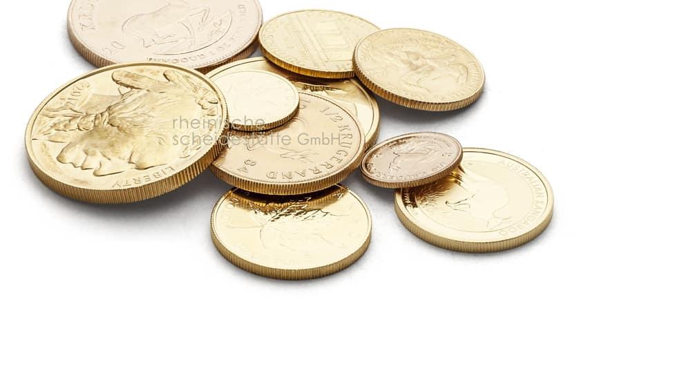 Goldmünzen verkaufen Düsseldorf Bild