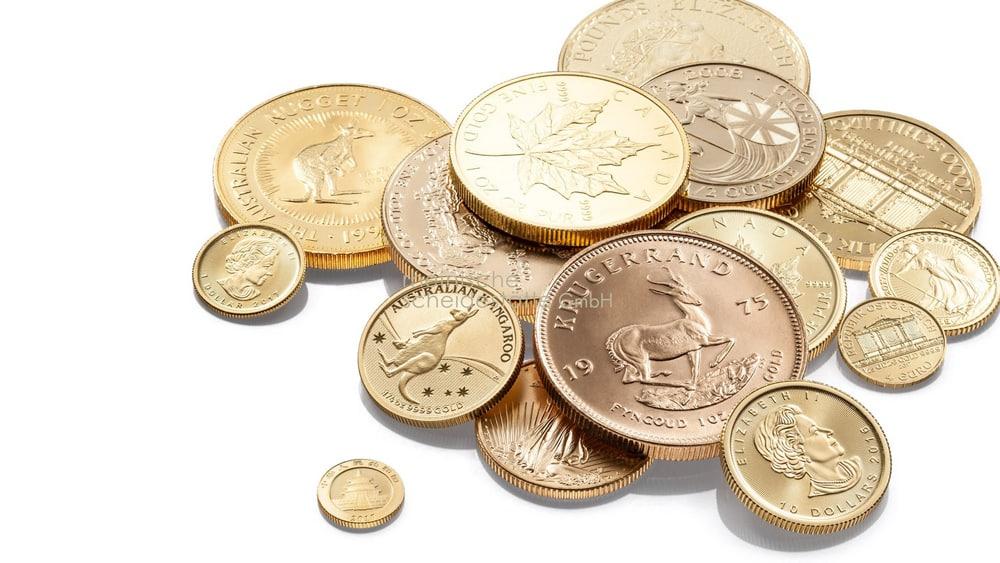 Goldmünzen verkaufen Düsseldorf Foto
