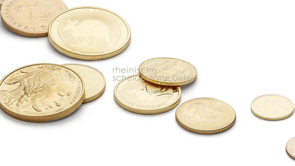 Goldmünzen verkaufen Düsseldorf Image