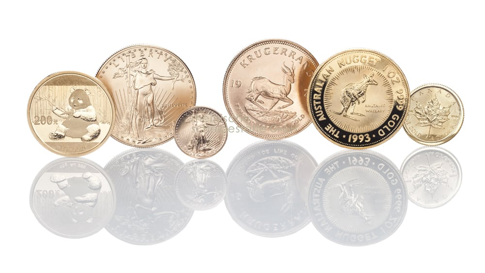 Goldmünzen verkaufen Köln Bild