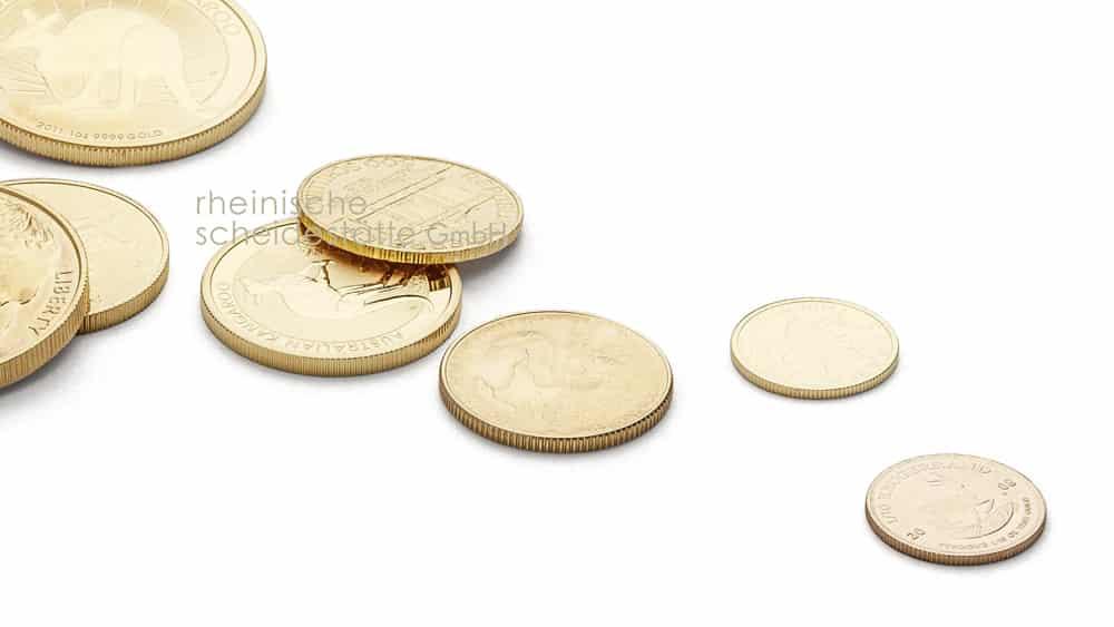 Goldmünzen verkaufen Köln Foto