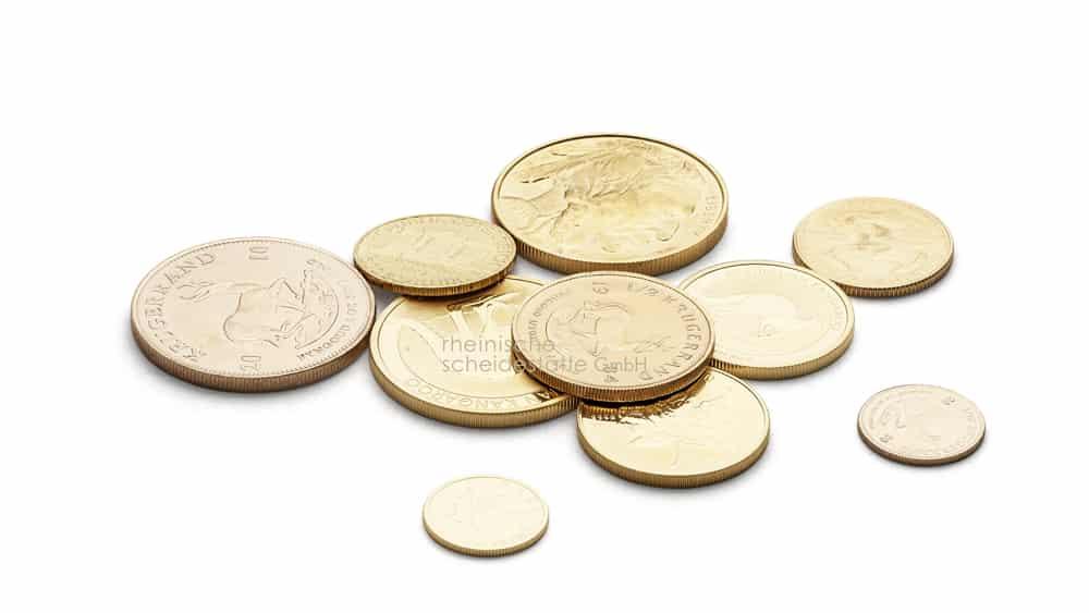 Goldmünzen verkaufen Münster Bild