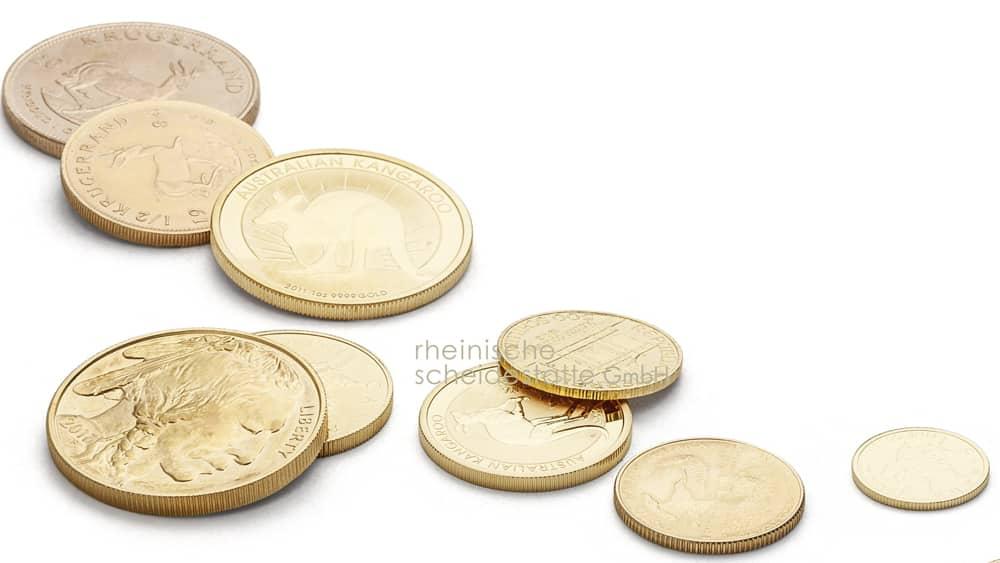 Goldmünzen verkaufen Münster Foto