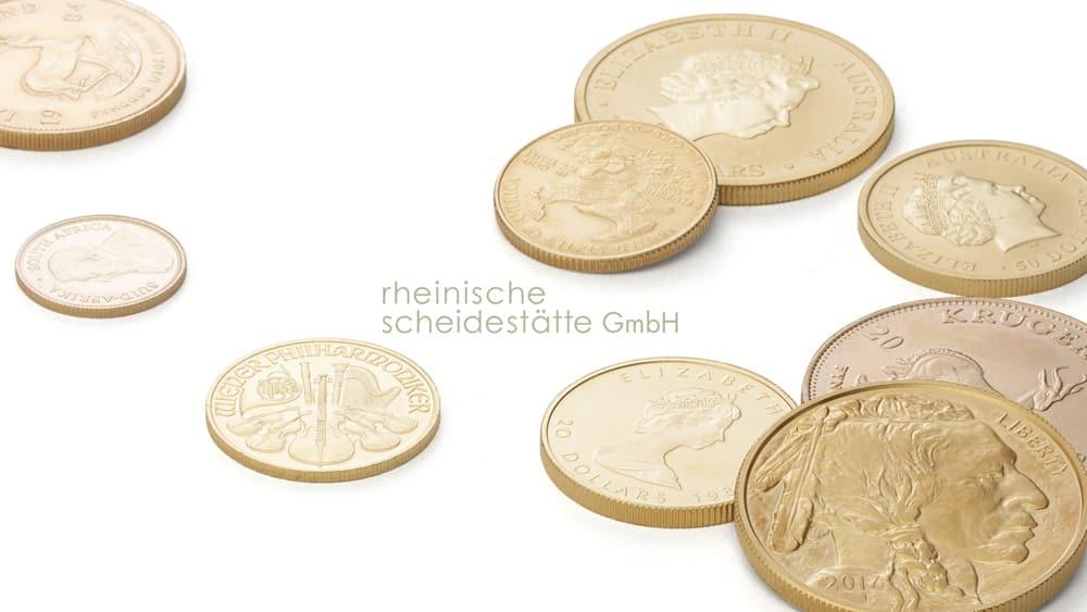 Goldmünzen verkaufen Münster Image