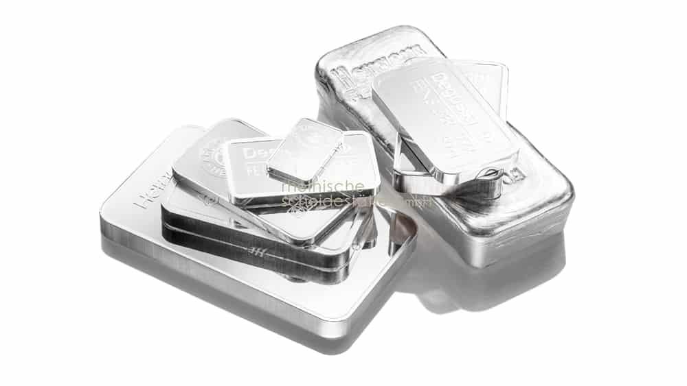Silberbarren kaufen Berlin Bild