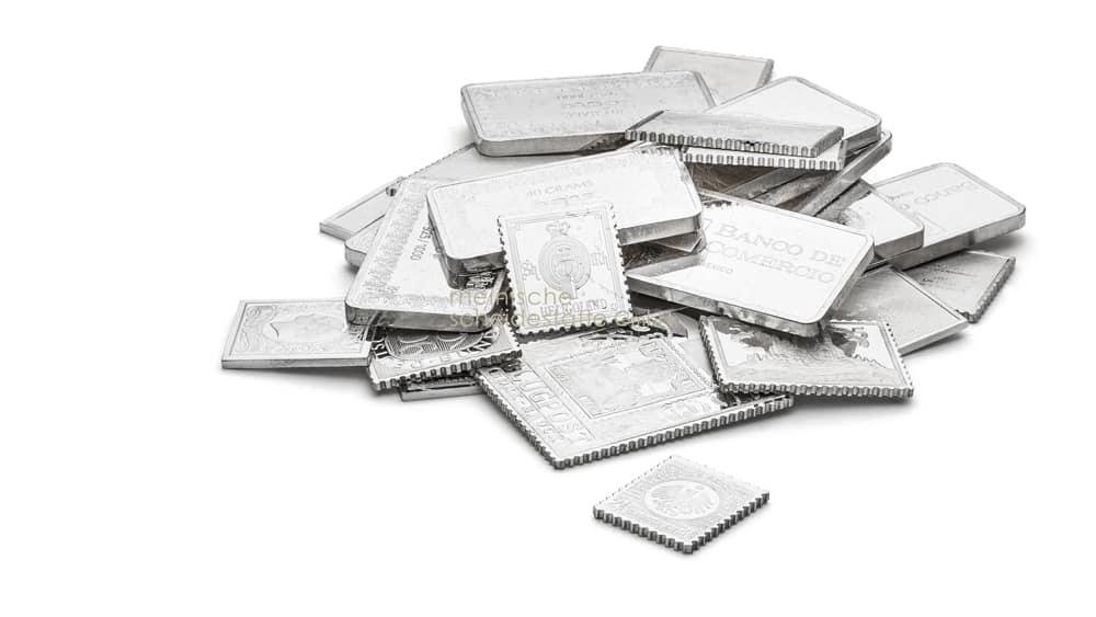 Silberbarren kaufen Düsseldorf Bild