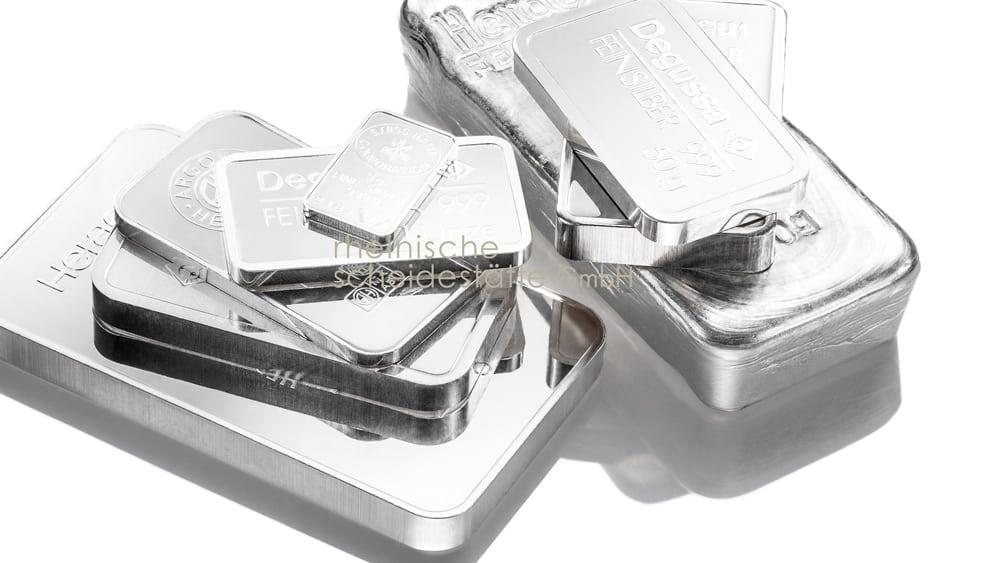 Silberbarren kaufen Düsseldorf Image