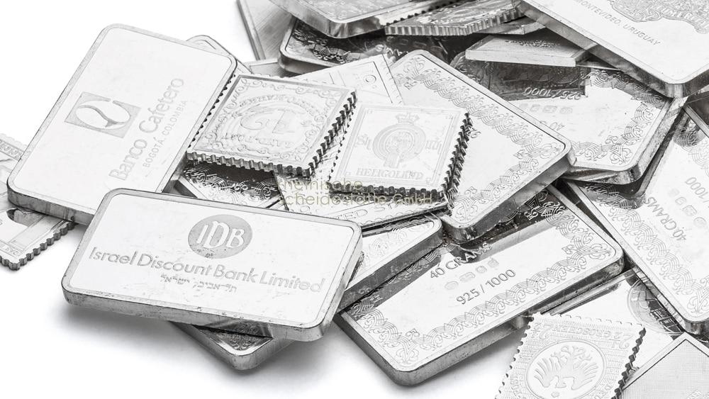 Silberbarren kaufen Köln Bild