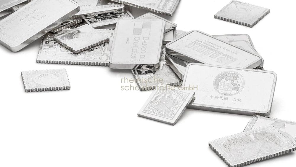 Silberbarren kaufen Münster Bild
