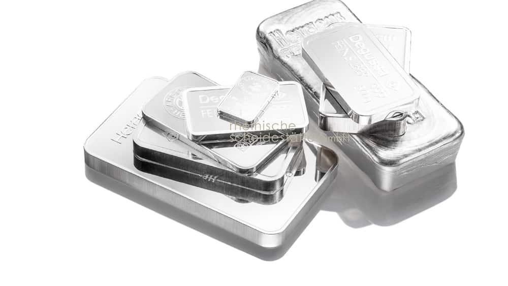 Silberbarren kaufen Trier Bild