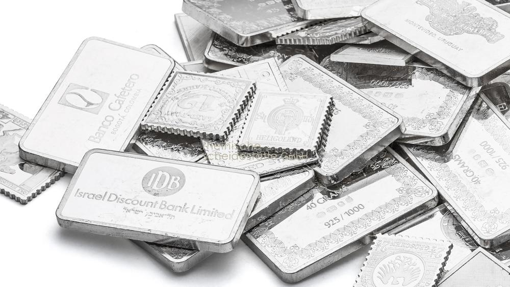 Silberbarren kaufen Trier Foto