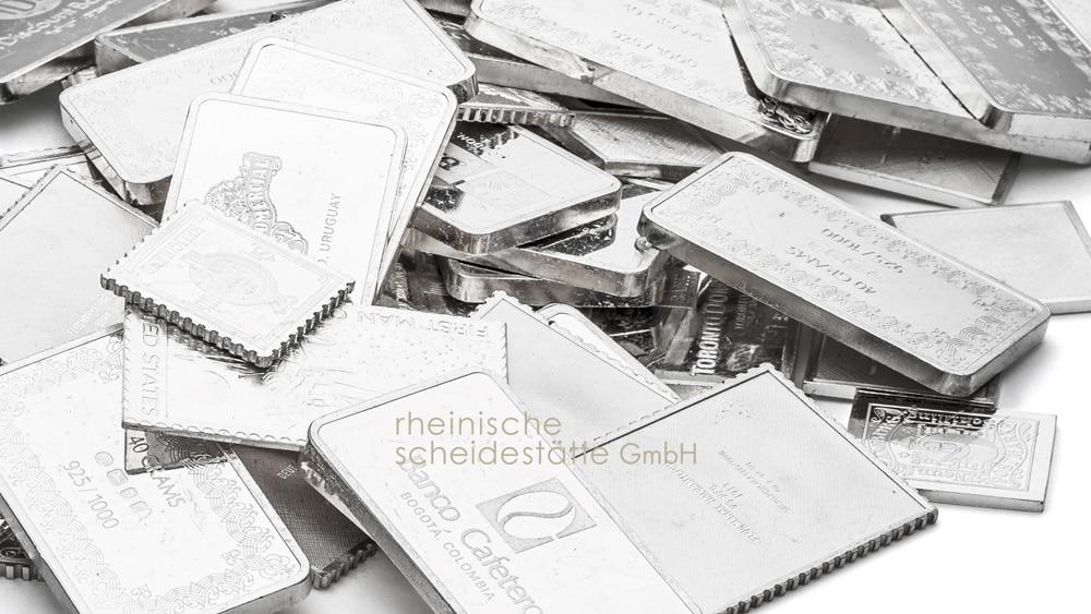Silberbarren kaufen Trier Image
