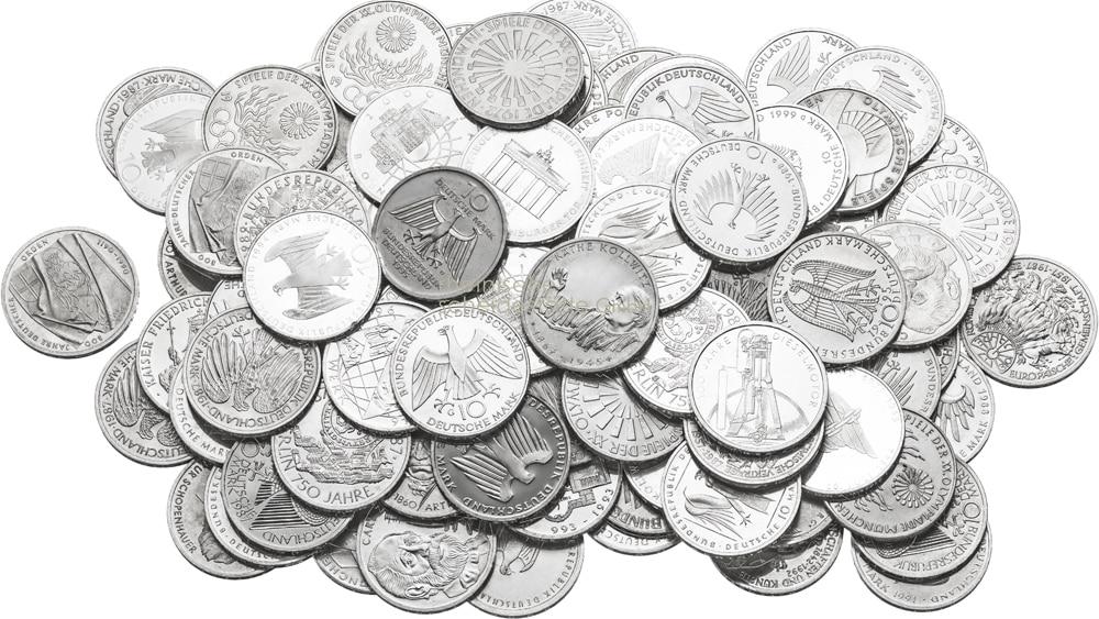 Silbermünzen kaufen Berlin Bild