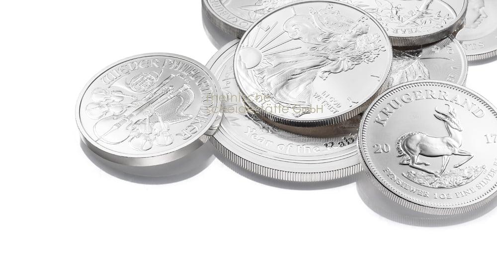 Silbermünzen kaufen Berlin Foto
