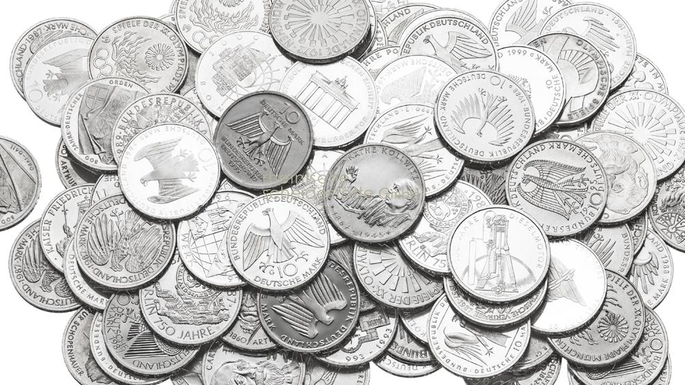 Silbermünzen kaufen Düsseldorf Bild