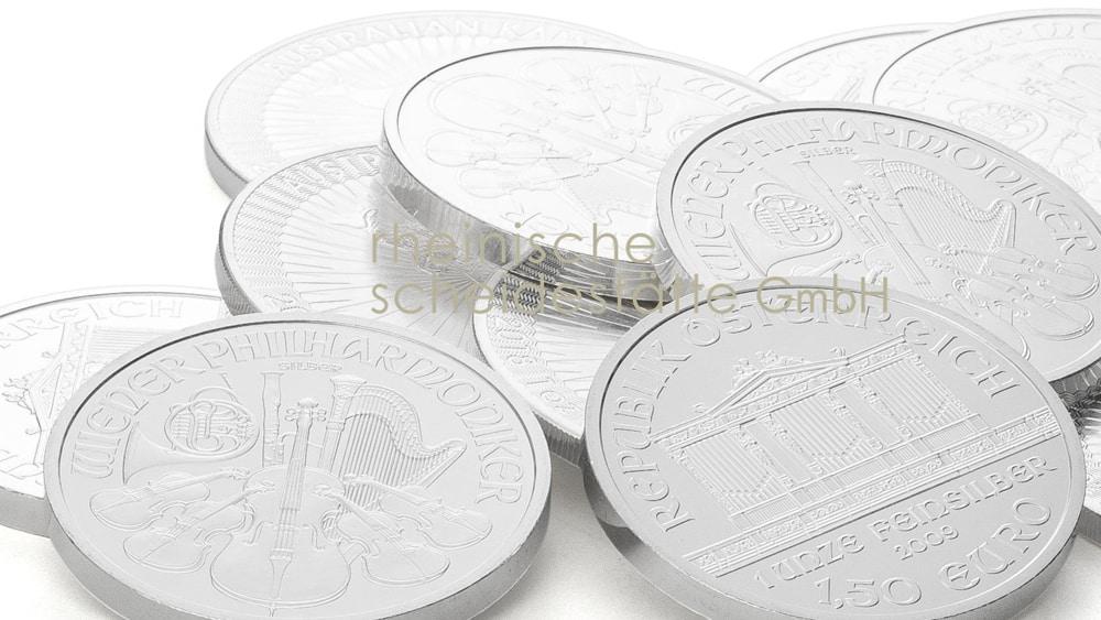 Silbermünzen kaufen Düsseldorf Image