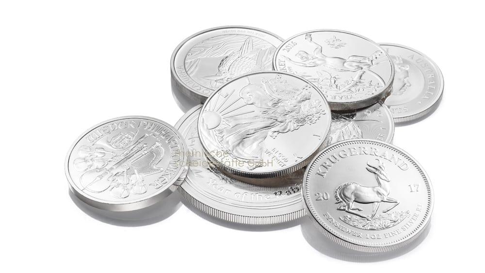 Silbermünzen kaufen Köln Bild