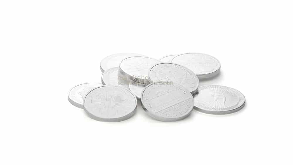 Silbermuenzen kaufen Köln Foto