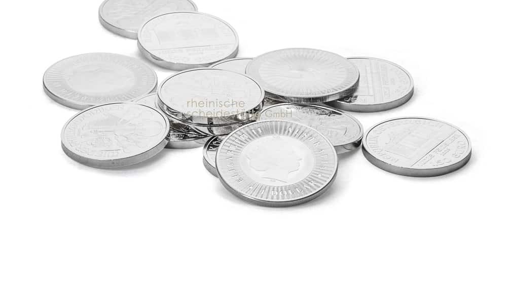 Silbermünzen kaufen Münster Bild