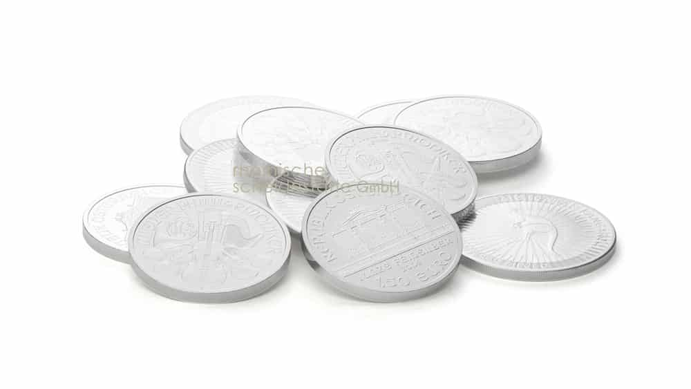 Silbermünzen kaufen Münster Foto