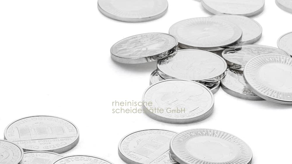 Silbermünzen kaufen Trier Bild