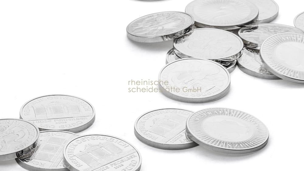 Silbermünzen verkaufen Aachen Bild