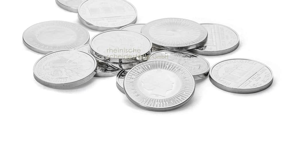 Silbermünzen verkaufen Aachen Foto