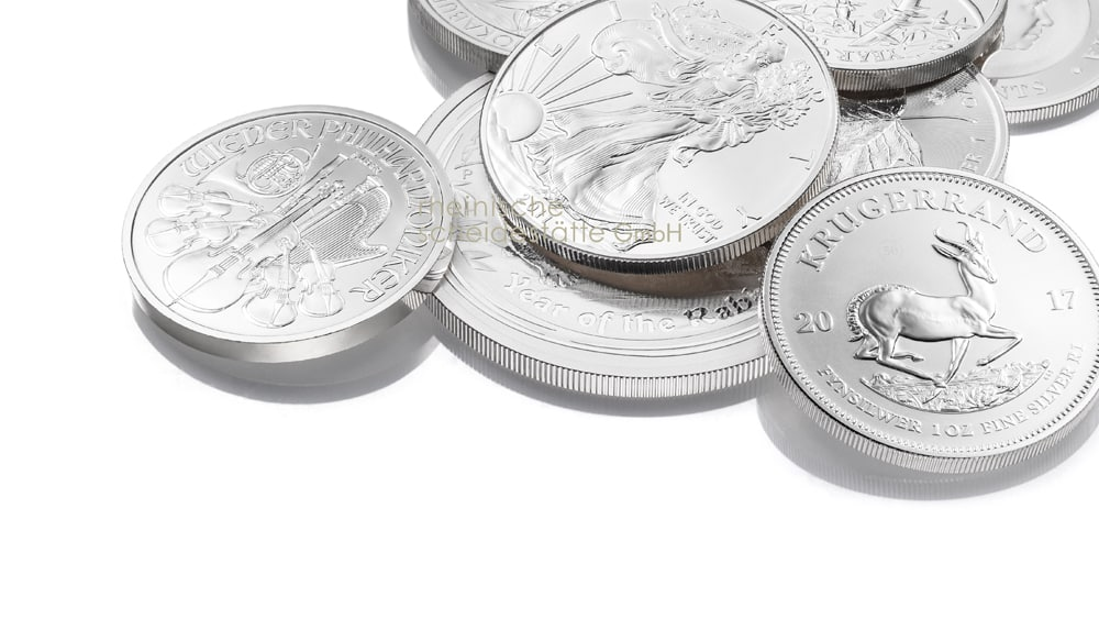 Silbermünzen verkaufen Aachen Image
